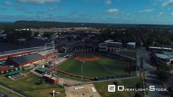 Travelers Baseball Club Little Rock Arkansas Drone Aerial View