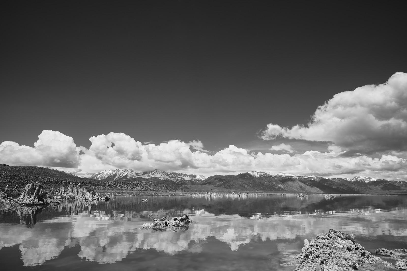 Mono Lake - Black and White Landscape Photograph
