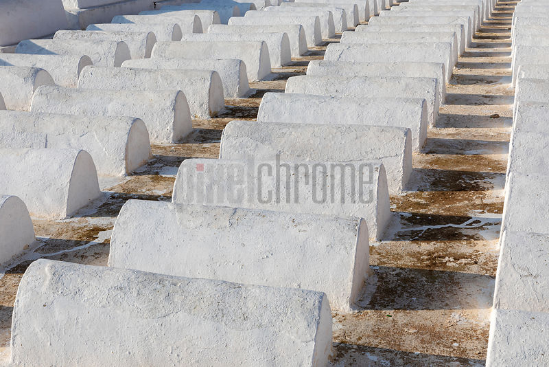 Graves in the Jewish Cemetary