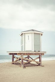 Seal Beach Lifeguard Tower One Photo