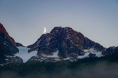 Kings Peak moonrise