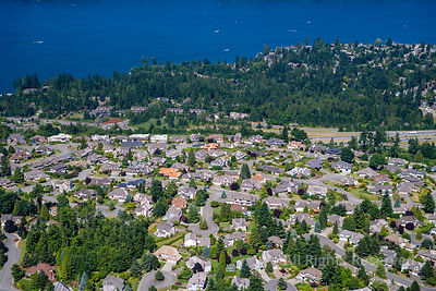 Neighbourhood of Issaquah Washington USA