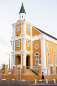 Colonial church, Willemstad, Curaçao