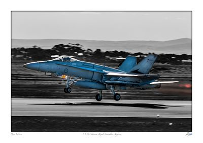 Royal Australian Airforce F/A18A Hornet