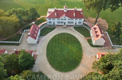 Aerial of Mount Vernon
