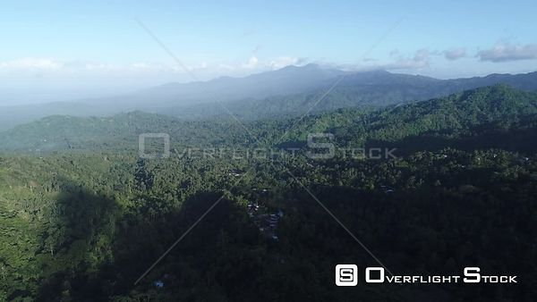 Taverau Village Crown Prince Mountains Bougainville Island Papua New Guinea