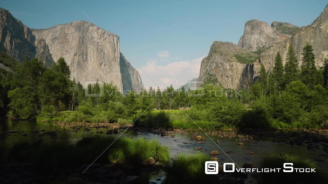 Yosemite Valley View Timelapse