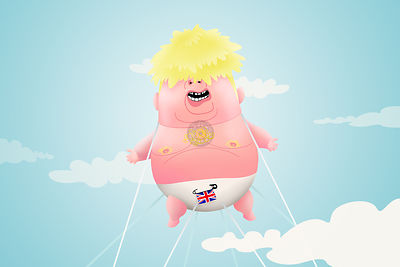 Boorish Boris's Britain Begins.