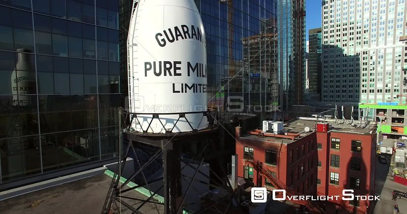 Guaranteed Pure Milk Bottle Montreal Quebec Canada