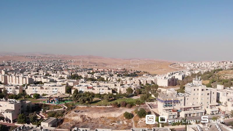 North Jerusalem Jewsih and Palestinian Neighborhoods Israel