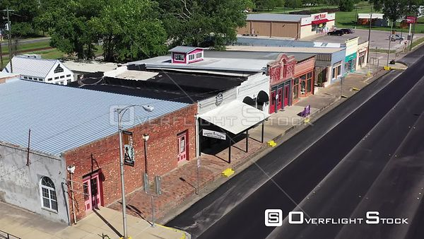 Antique Shops and Retail Storefronts, Calvert, Texas, USA