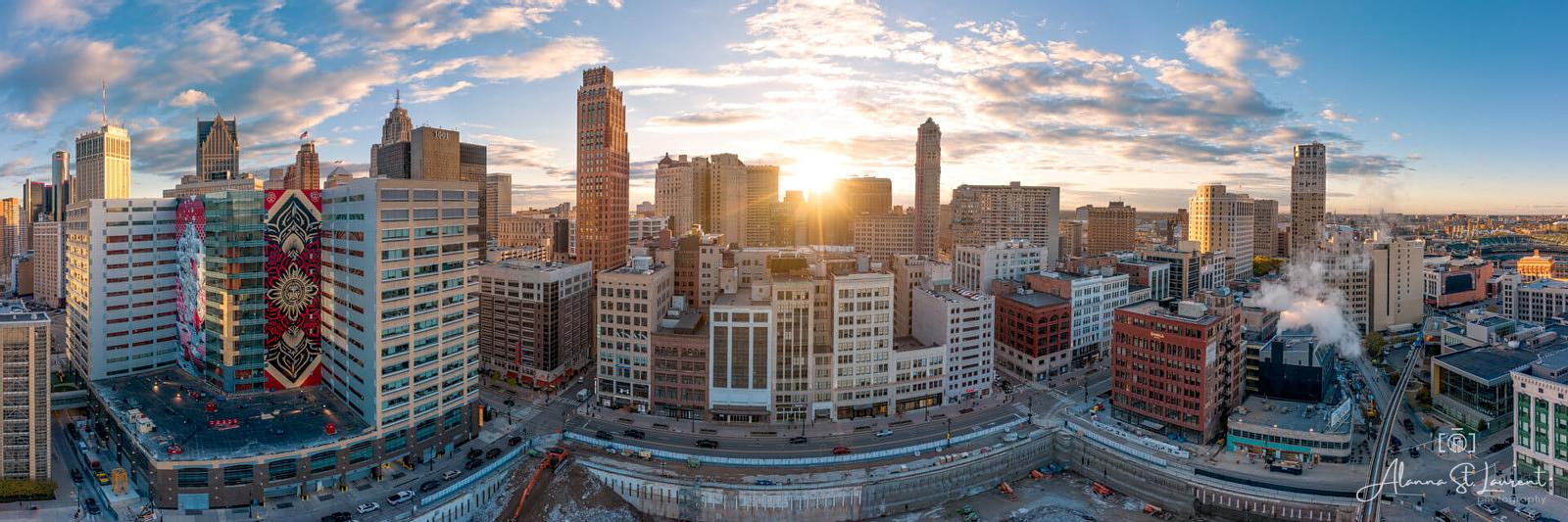 Detroit_Skyline_180_Pano_Z_Garage
