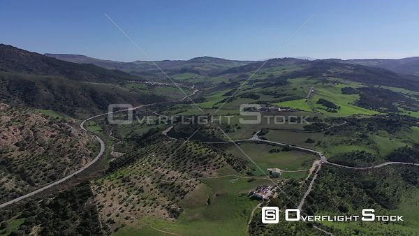 Drone Video of the Spanish Countryside