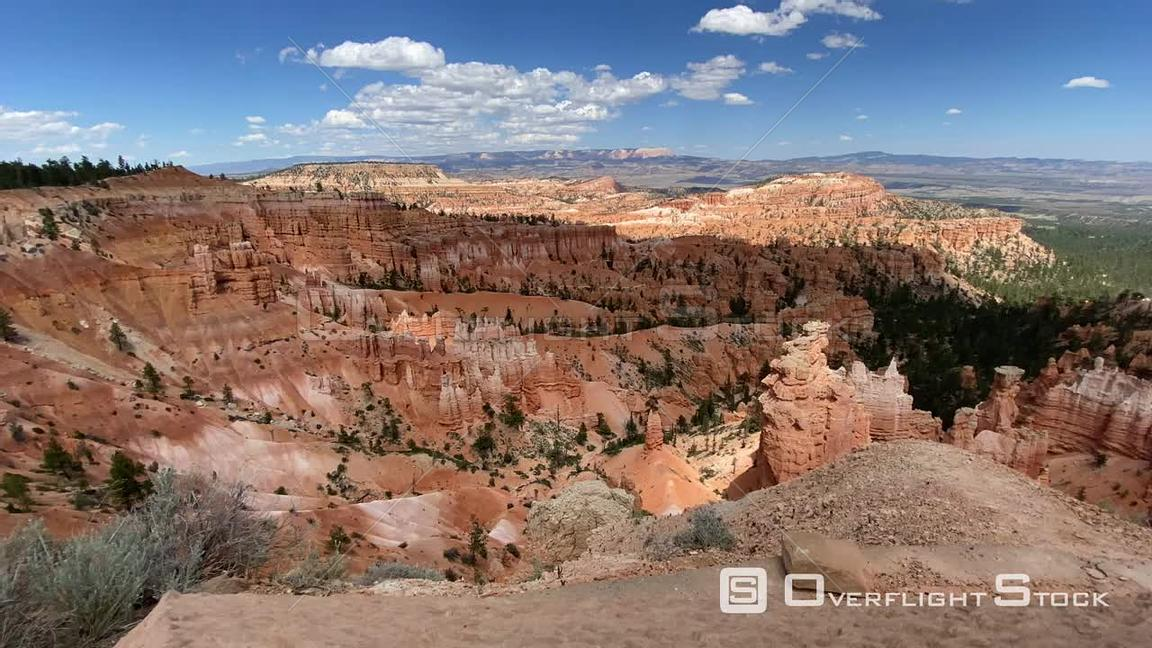 TimeLapse Bryce Canyon National Park Lookout Utah USA
