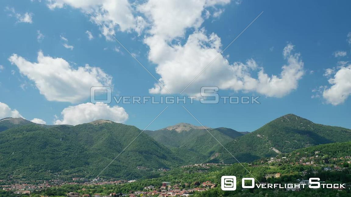 Timelapse of Clouds and Mountains in Northern Italy