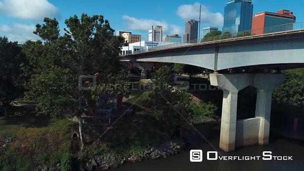 Little Rock Arkansas Drone Aerial View