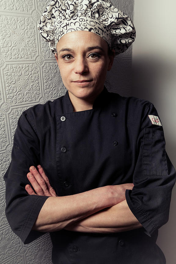 Pastry chef Karen, Montreal South Shore editorial portrait photographer