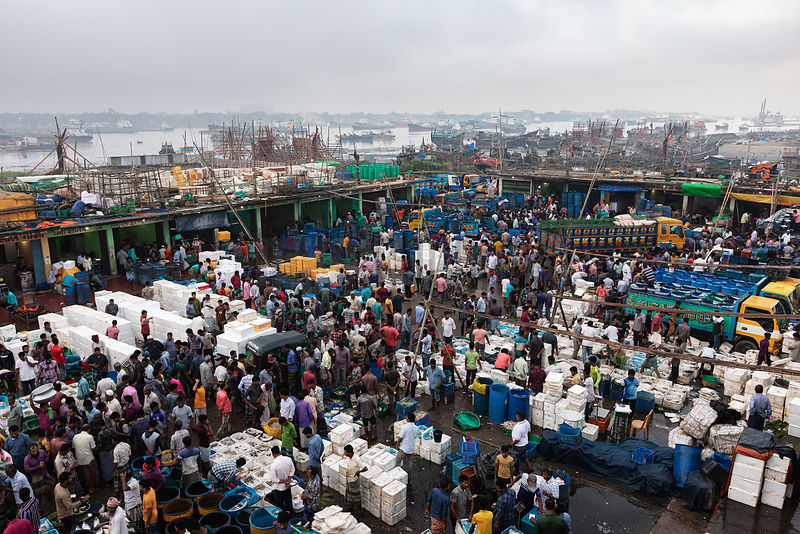 The Fish Market at Fisheri Ghat
