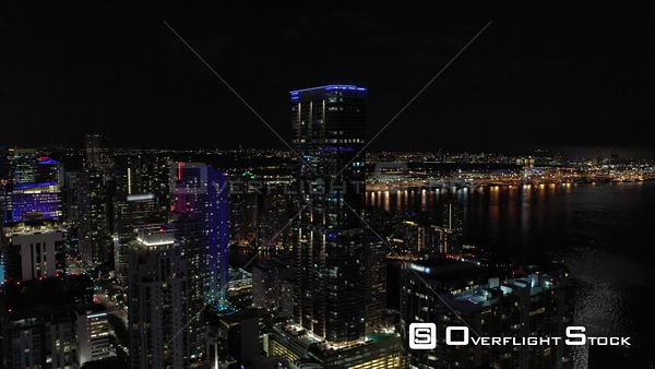Brickell Miami Tallest Buildings Aerial Video