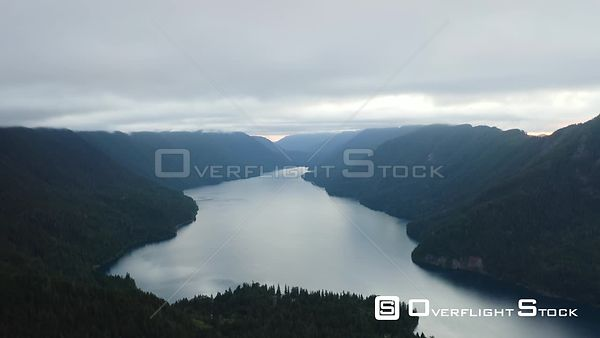 Storm King Mountain, Crescent Lake Washington State