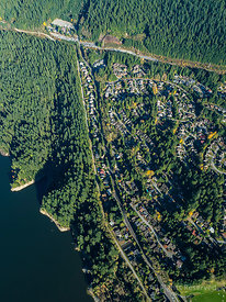 Capilano Lake and North Vancouver