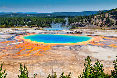Grand Prismatic Spring Overlook