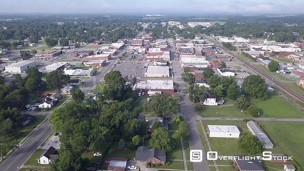 Drone Video City Center Dunn North Carolina