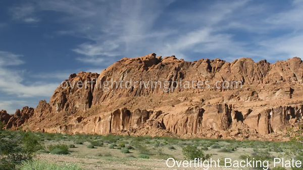 Sandstone Bluffs Red Rock Canyon  Nevada USA - BackingPlate Oct 11, 2017