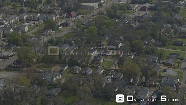 Montgomery Alabama tilt up reveal of local neighborhood to state university campus  DJI Inspire 2, X7, 6k