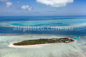Heron Island and reef.