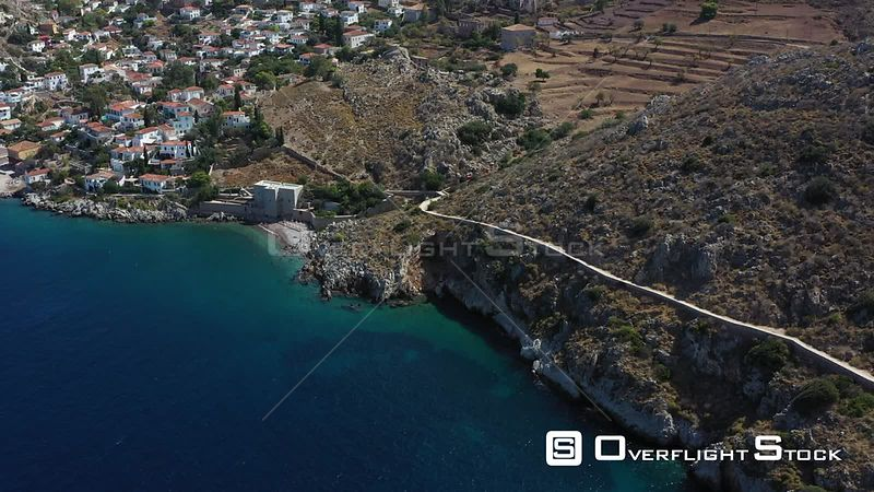 Drone Footage Hydra Greece