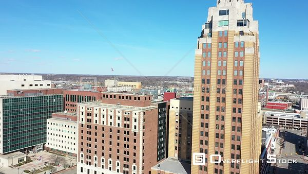 Capital Bank Tower and Downtown Lansing Michigan State