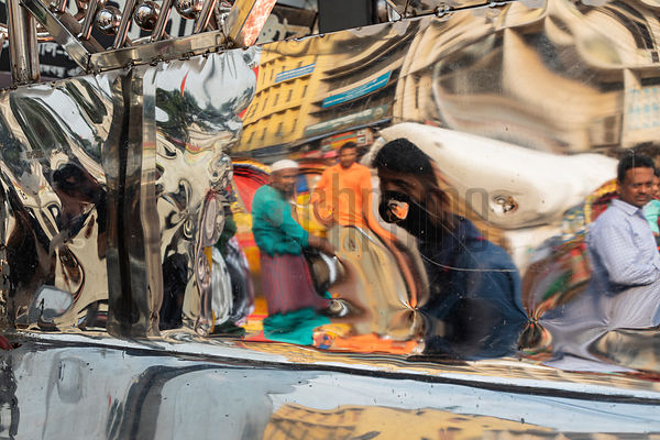 Reflections in the Streets of Dhaka
