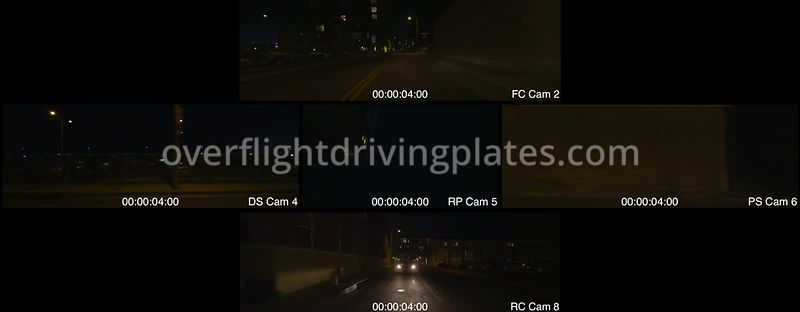 Santa Monica Pier Night  Santa Monica California USA - Driving Plate Preview 2012