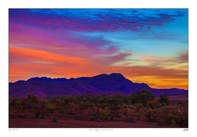 Flinders Ranges sunrise