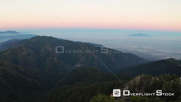 Drone Video Mt Wilson Observatory California