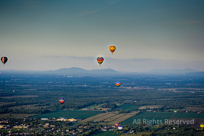 Hot Air Balloon Festival Quebec Canada
