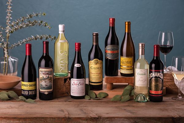 Styled wine photography for Caymus Vineyards, Napa Valley, California by Jason Tinacci
