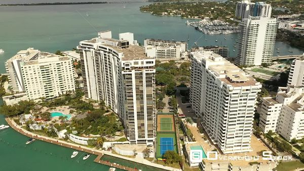 Miami Beach Florida Residential Condominiums on the Water