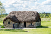 Old Leanach Cottage, Culloden Battlefied