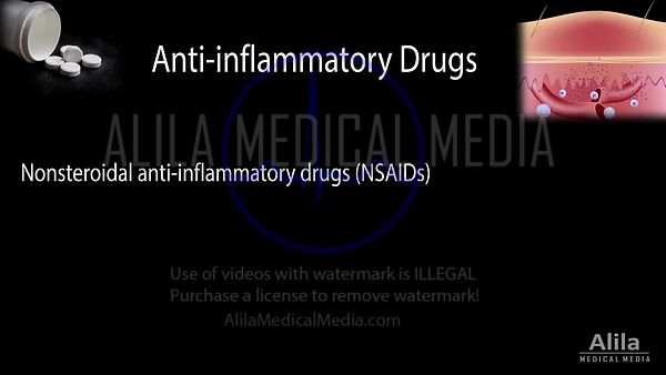 Anti-inflammatory drugs NARRATED animation