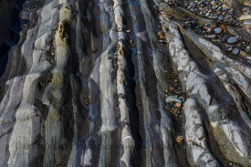 Rock Revealed at Low Tide in Olympic National Park