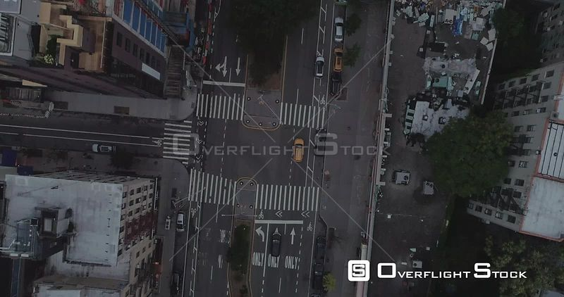 Aerial View Looking Down on Housten St NYC