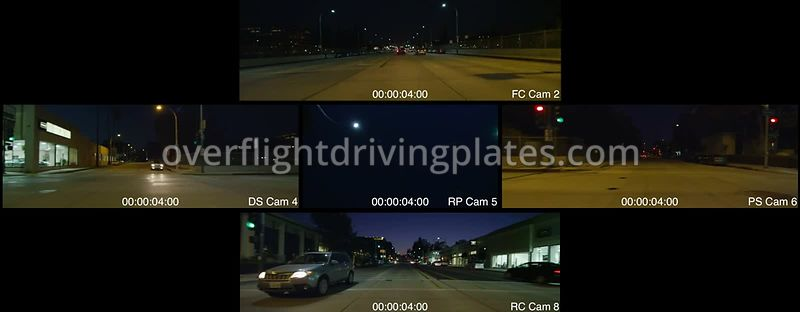 Old Town Twilight  Pasadena California USA - Driving Plate Preview 2012