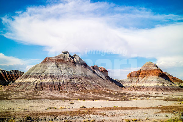 The Teepees in Petrified Forest National Park, Arizona