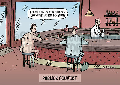 Nude in a Bar (French)