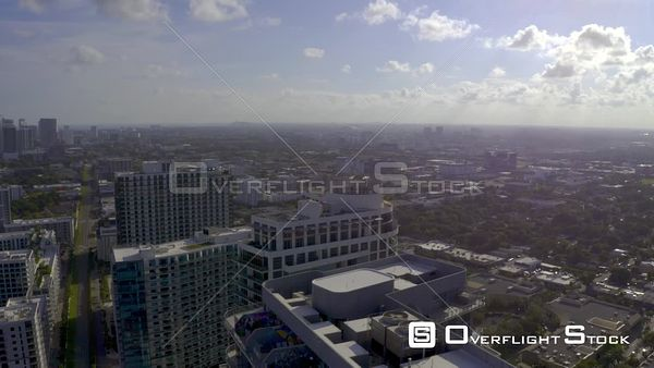 Cinematic Aerials of Midtown Edgewater Miami Highrise Towers
