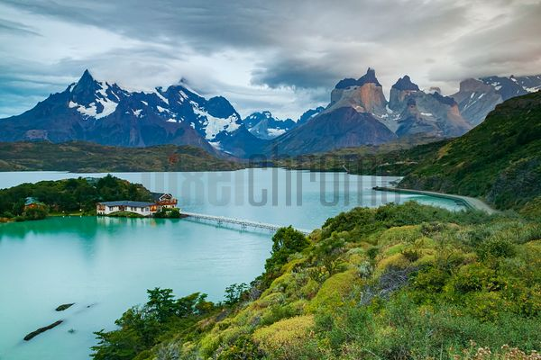 Cuernos del Paine and Hosteria Pehoe