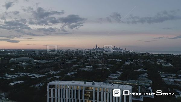Drone Video Uinversity of Chicago Campus