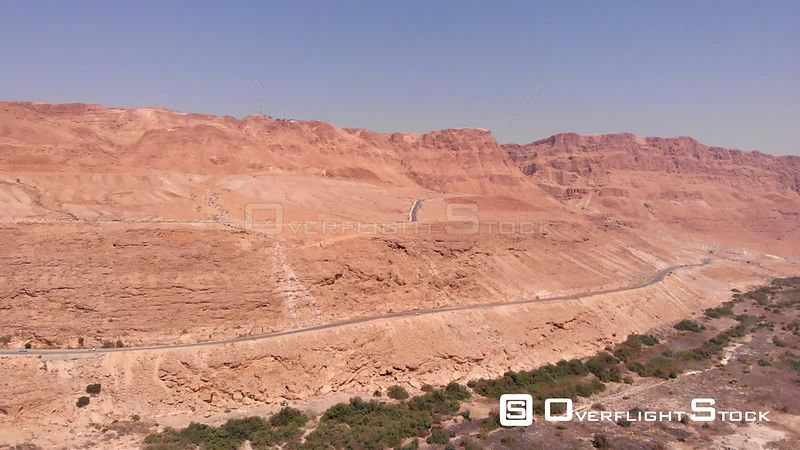 Dead Sea Desert and Road Israel